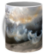 Painting With The Smoke Coffee Mug