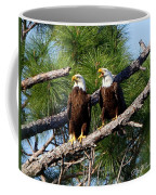 Pair Of American Bald Eagle Coffee Mug