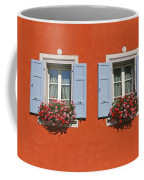 Pair Of Blue Shutters Coffee Mug