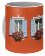 Pair Of Blue Shutters Coffee Mug