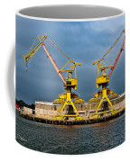 Pair Of Cranes Coffee Mug