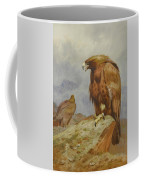 Pair Of Golden Eagles By Thorburn Coffee Mug