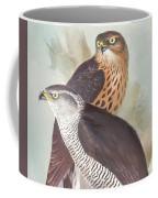 Pair Of Goshawks Coffee Mug
