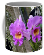 Pretty Purple Orchids Coffee Mug