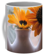 Pair Of Sunflowers Coffee Mug
