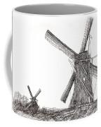 Pair Of Windmills 2016 Coffee Mug