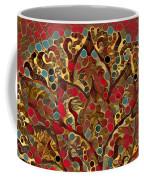 Paisley Fan In Dots  Coffee Mug