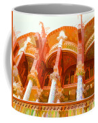 Palau De La Musica Catalana Window Coffee Mug