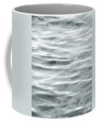Pale Aqua Water Ripples Coffee Mug