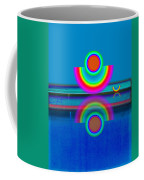 Pale Blue Reflections Coffee Mug