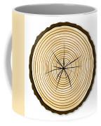 Pale Log End Coffee Mug