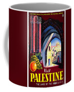 Palestine Travel Poster Coffee Mug