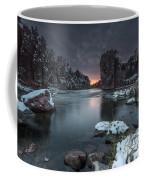 Palisades First Snow Coffee Mug