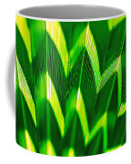 Palm Abstract Coffee Mug