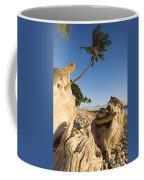 Palm And Driftwood Coffee Mug
