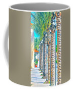 Palm Columns Coffee Mug
