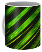 Palm Frond Abstract Coffee Mug