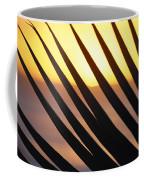 Palm Frond Detail Coffee Mug