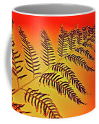 Palm Frond In The Summer Heat Coffee Mug
