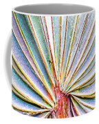 Palm Frond Lines Coffee Mug