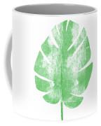Palm Leaf- Art By Linda Woods Coffee Mug