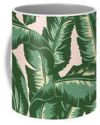 Palm Print Coffee Mug by Lauren Amelia Hughes