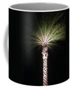 Palm Tree At Night Coffee Mug