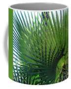 Palm Tree, Big Leafs Coffee Mug