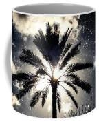 Palm Tree In The Sun #3 Coffee Mug