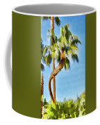 Palm Tree Needs A Chiropractor Painterly I Coffee Mug