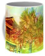 Palm Tree Portrait Coffee Mug