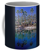 Palm Tree Reflections Coffee Mug