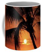 Palm Tree Silhouette Coffee Mug