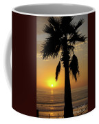 Palm Tree Sunset Coffee Mug