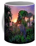 Palm Tree Sunset Coffee Mug