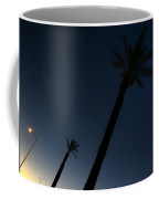 Palm Trees In The Early Morning Coffee Mug