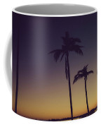 Palm Trees In The Morning Light Coffee Mug