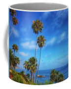 Palm Trees On The Pacific Coffee Mug