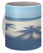 Palm Trees Over Fort Myers Beach Fort Myers Florida Coffee Mug
