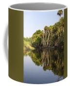 Palm Trees Reflections Coffee Mug