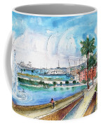 Palma De Mallorca Panoramic 01 Coffee Mug