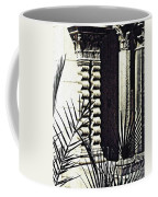 Palms And Columns Coffee Mug