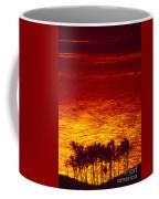 Palms And Reflections Coffee Mug