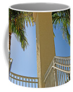 Palms And Stairs Coffee Mug