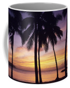 Palms And Sunset Sky Coffee Mug