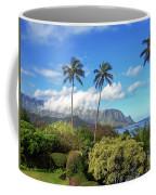 Palms At Hanalei Coffee Mug