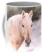 Palomino In The Snow Coffee Mug