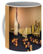 Pan Flutes And Buckeyes Coffee Mug