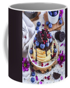 Pancakes With Chocolate Sauce Coffee Mug