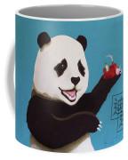 Panda Joy Blue Coffee Mug